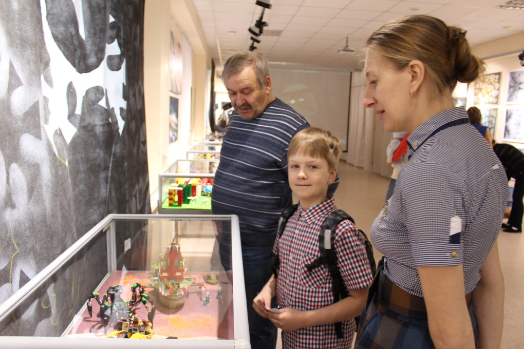 Благотворительная выставка «Мир LEGO» состоялась! 2