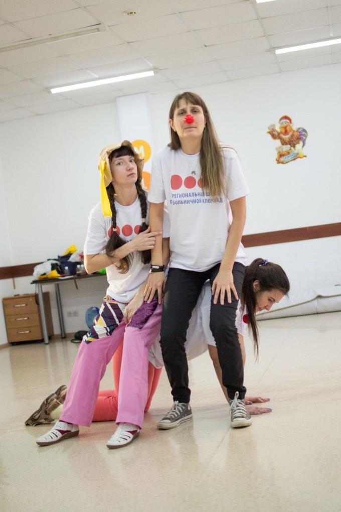 Больничные клоуны в Сургуте! 3