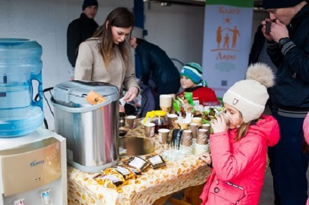 Молодежное объединение сургутского ЗСК провели благотворительную акцию 1