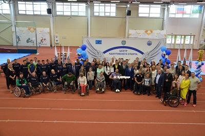 Региональный Центр адаптивного спорта в Сургуте отметил 1 год 1